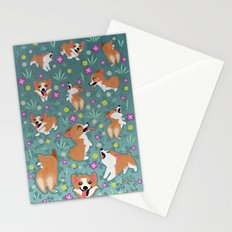 Corgis Stationery Cards