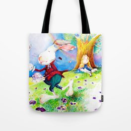 Alice in my Wonderland Tote Bag