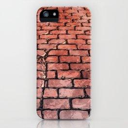 Vintage Brick Street iPhone Case