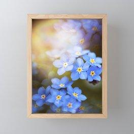 Don't Forget Me no.3863 Framed Mini Art Print