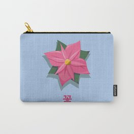 Flower 꽃 Carry-All Pouch