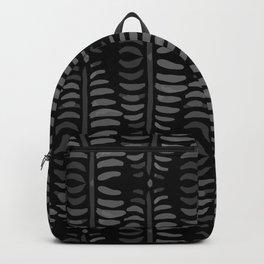 Helecho black pattern Backpack