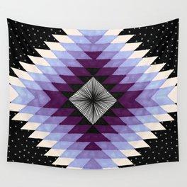 Cosmic Eye - Peach/Plum Wall Tapestry