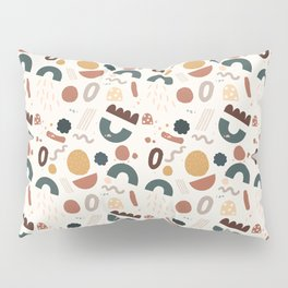 Geo Shapes Party Pillow Sham