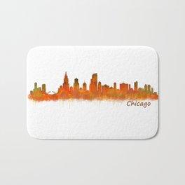 Chicago City Skyline Hq v2 Bath Mat