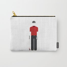 American Golfer Minimal Sticker Carry-All Pouch