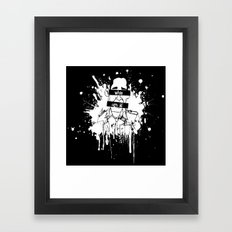 Guess Who? Black Framed Art Print