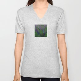 Lobelia leaves Unisex V-Neck