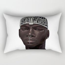 The Silent Brother Rectangular Pillow