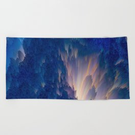 Fractus  Beach Towel