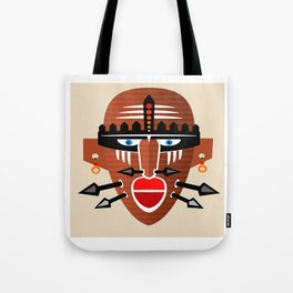 Tribal Mask II Tote Bag