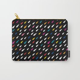 Bright Droplets Carry-All Pouch