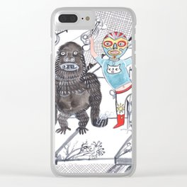 Candy Bandits Clear iPhone Case