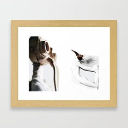 The Nothing Between US Framed Art Print