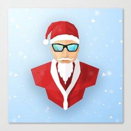 Christmas Santa Canvas Print