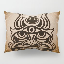 Vicious Tribal Mask Snakeskin 005 Pillow Sham