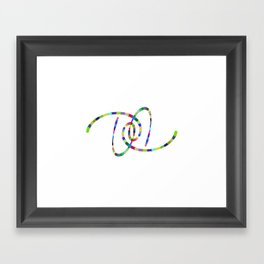 08 Framed Art Print