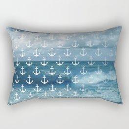 Indigo Sea Rectangular Pillow
