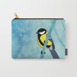 Great tit (Parus major) Carry-All Pouch