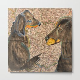 Dachshund - German Breed Metal Print