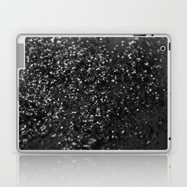 Black & Silver Glitter #1 #decor #art #society6 Laptop & iPad Skin