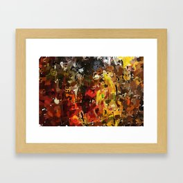 Autumn Woods 031012 Framed Art Print
