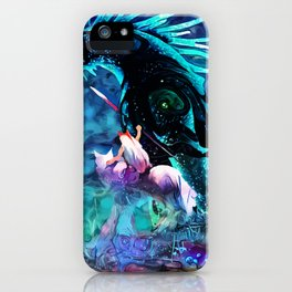 Colorful Shinigami iPhone Case