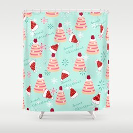 Sweet Christmas Shower Curtain