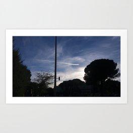Reproductive sky/ Before fetus ;-) Art Print