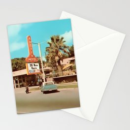Vintage Austin Motel Stationery Cards
