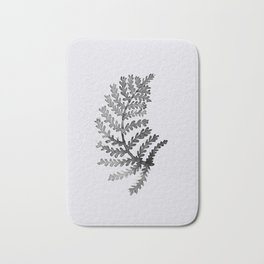 Baesic Mono Floral (Leaf 4) Bath Mat