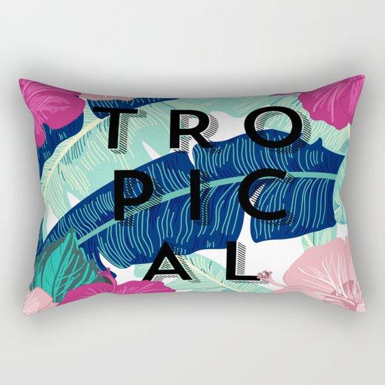 Tropical garden Rectangular Pillow
