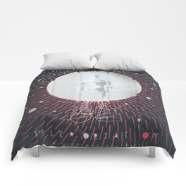 Teleportation - A Better Way to Travel Comforters