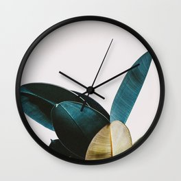 #leaf Wall Clock