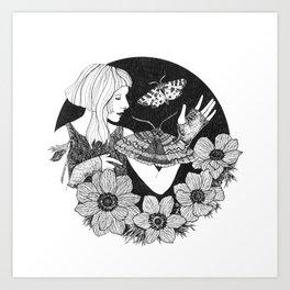 Daydreamer (Aurora Aksnes) Art Print