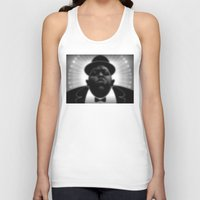 biggie Tank Tops featuring BIGGIE  by Robdraw