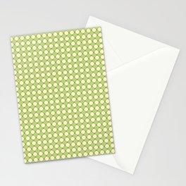 Fondant Perfection - Green-Cream Stationery Cards