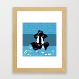 Detangling Framed Art Print