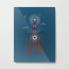 Sea Sentinel Metal Print