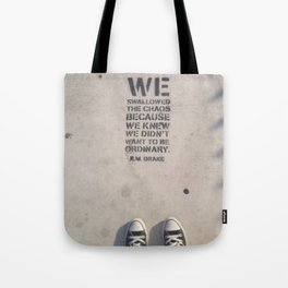 Heavy Steps Tote Bag