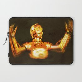 C3PO Pop Art Laptop Sleeve