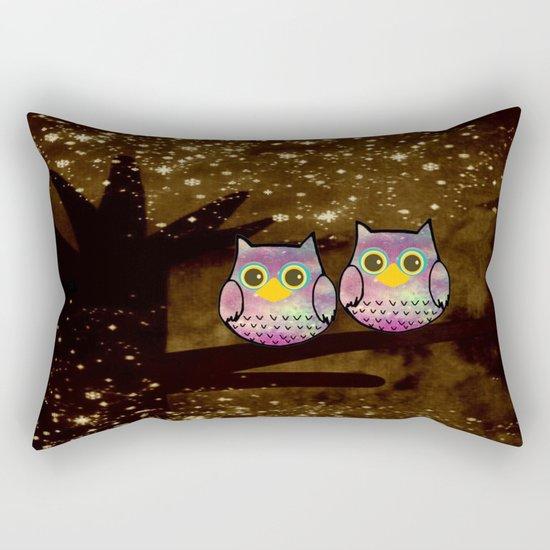 owl-146 Rectangular Pillow