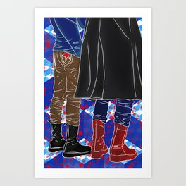 Fanart Fashion Art Print