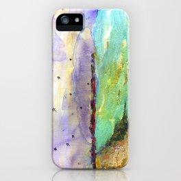 Becca's Badass Beach of Badassery iPhone Case