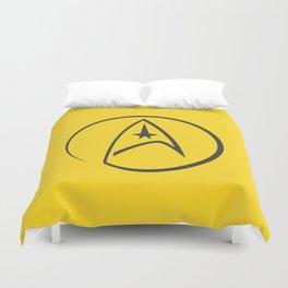 Heathen Trekkie - StarTrek 's Kirk Yellow Duvet Cover