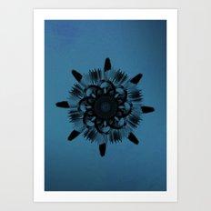 Cirsium 'Taurus' Art Print
