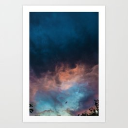 Somewhere Above Art Print