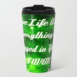 Everything Is Rigged - Rumi Travel Mug