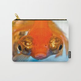 Bubble Eyed Goldfish Carry-All Pouch