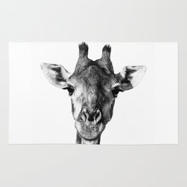 Giraffe Portrait I Rug